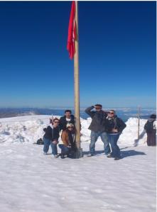 On top of Jungfrau